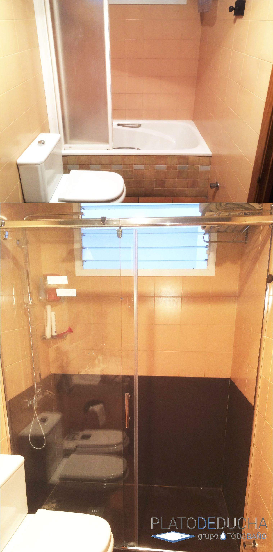 Cambio de bañera por ducha - Reforma de baños en Elche ...
