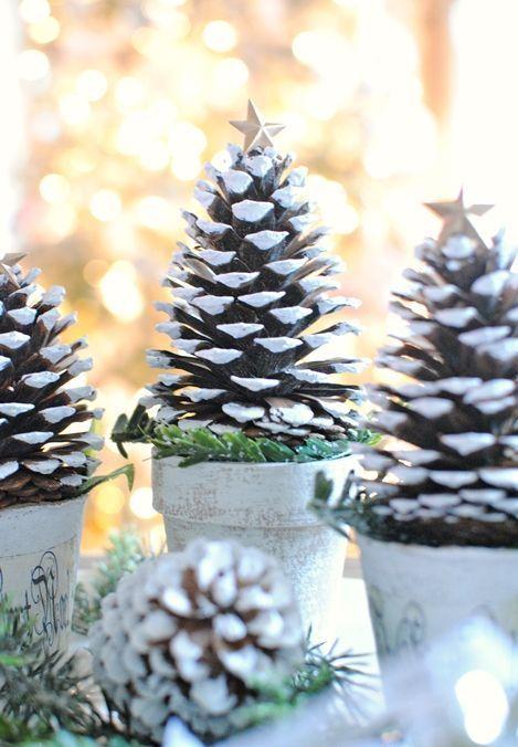 15 Tannenzapfen Weihnachten Bäume Und Wege Schmücken | Diyundhaus.com