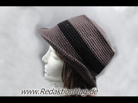 Häkeln - Linkshänder - Hut aus hatnut surf von Pro Lana | Mützen ...