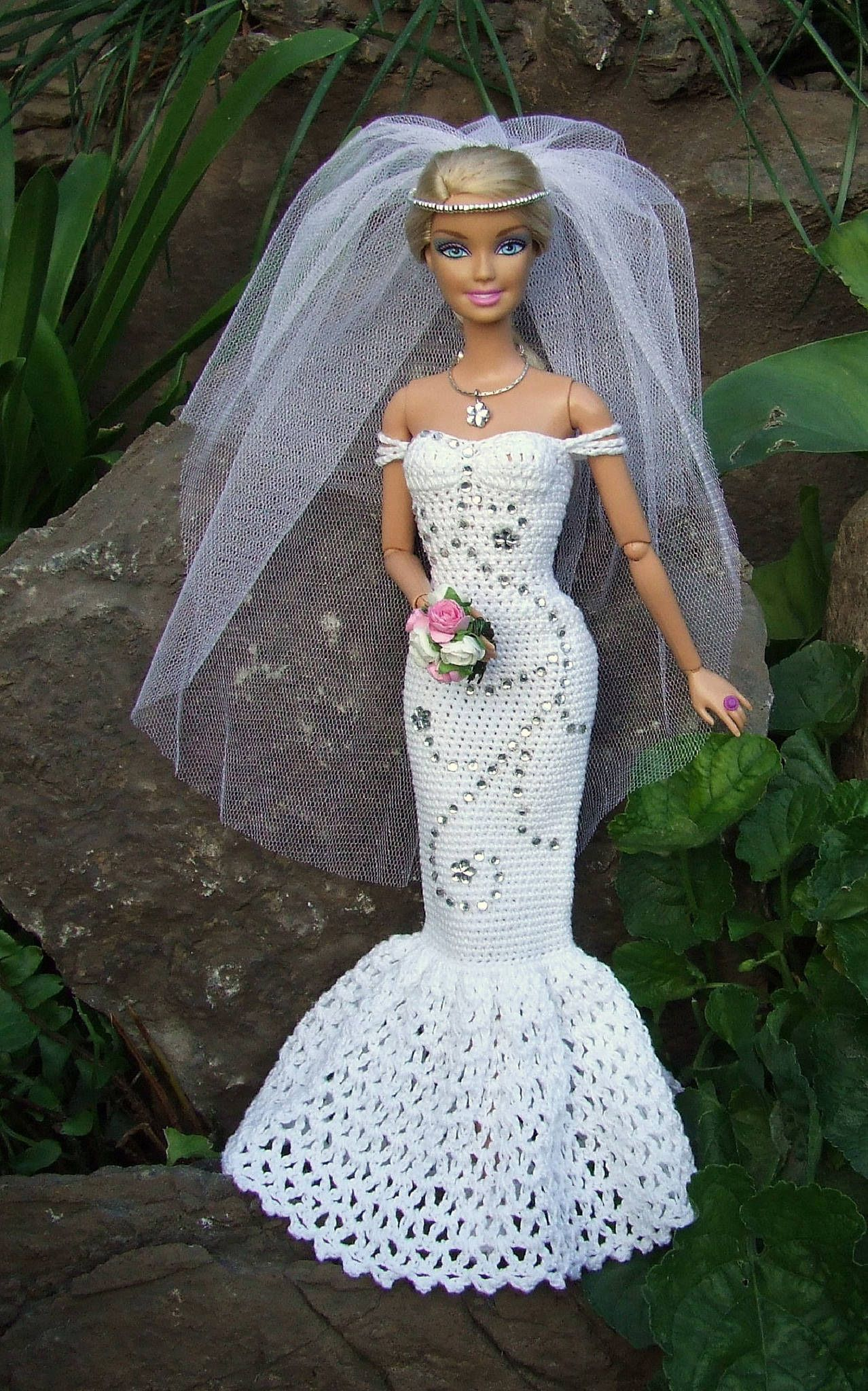 TR1 R150 Barbie clothes, Crochet dolls, Crochet doll