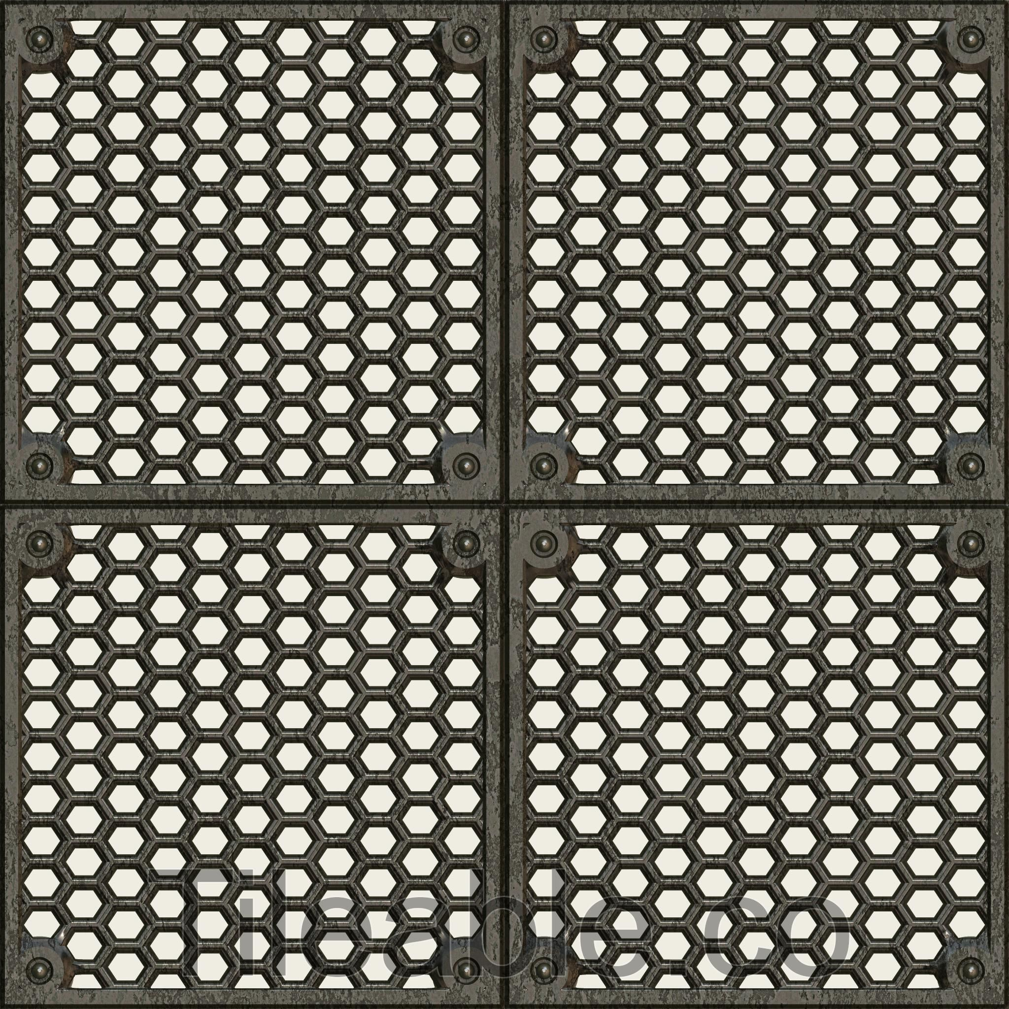 Metal Floor Grate Design 3 Awsome Texture With All 3d Modelling Maps Included Get A 512 512 Px Copy Of This Texture For In 2020 Metal Floor Floor Texture Flooring