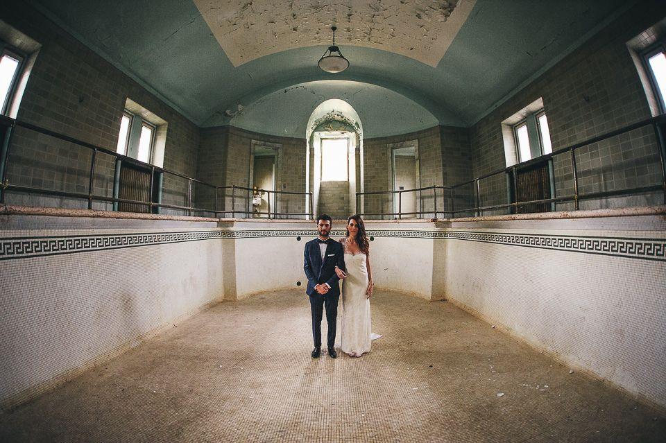 Erin & Daniel / A New York Abandoned Mansion Wedding ...