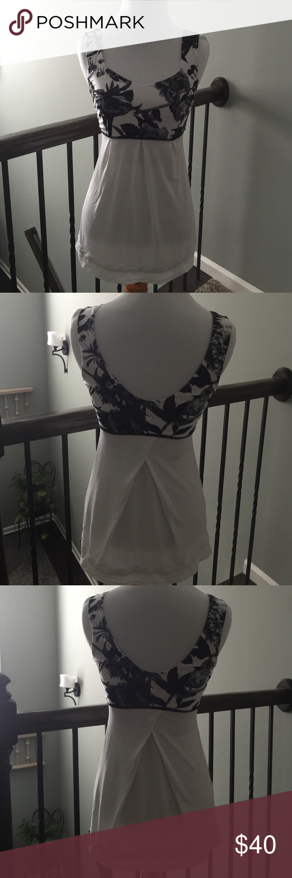 Lululemon top,  sz 4 Great top!! I am a runner and just wear ones that fall differently. Size 4. Only worn twice. Excellent used condition. lululemon athletica Tops Tank Tops