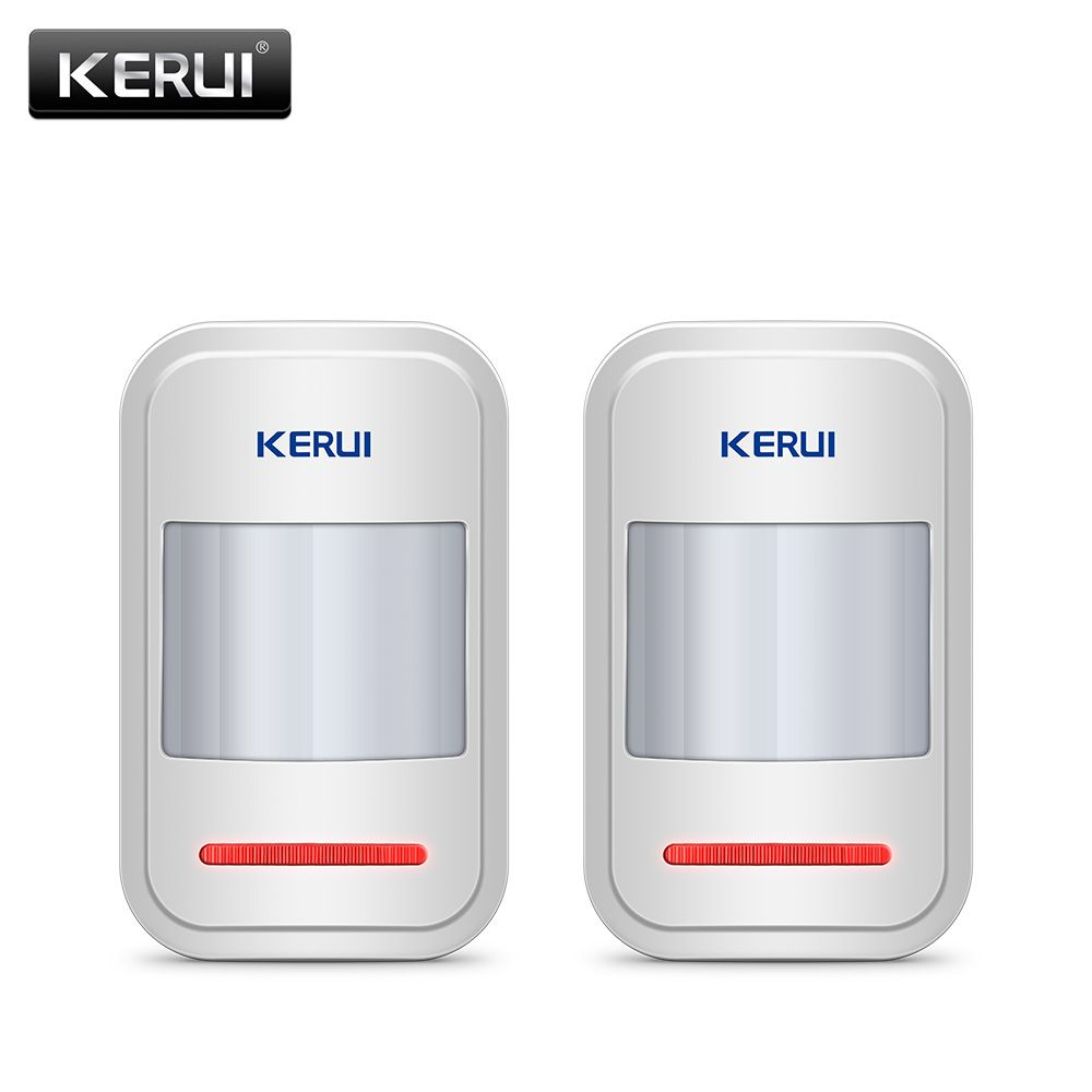 Get Discount 2pc/4pc Lot KERUI 433Mhz Wireless Intelligent PIR ...