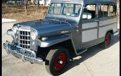 Jeep Models 1960s 1950 Willys Delivery Station Wagon For Sale