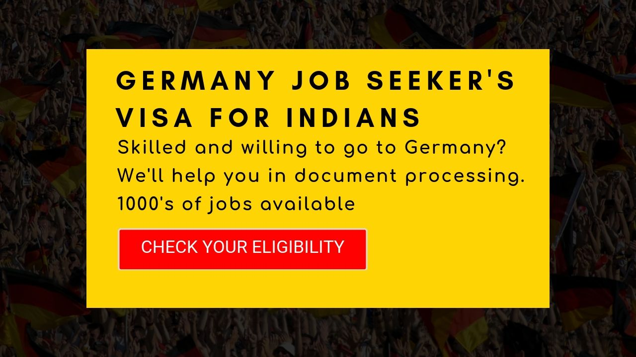 Skilled and willing to go to Germany? Germany, Job