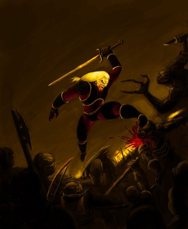 Legacy of kain blood omen fan art