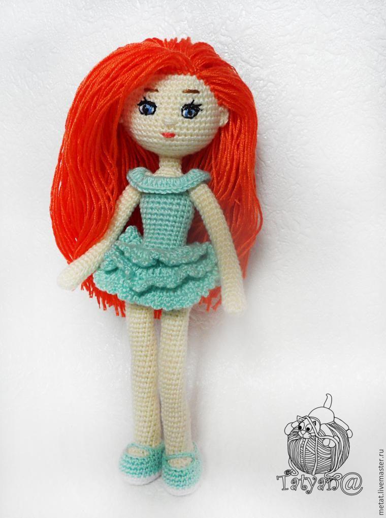 Patrón gratis amigurumi de muñeca articulada Espero que os guste ...
