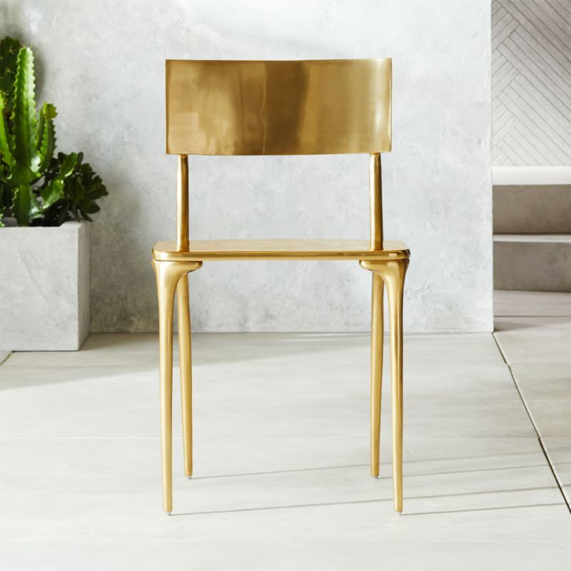 Oro Gold Dining Chair Reviews Gold Dining Chairs Furniture