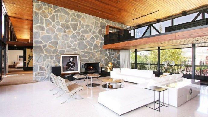 Steinwand Wohnzimmer Eine dekorative Wand voller Charakter und - wohnzimmer design steinwand