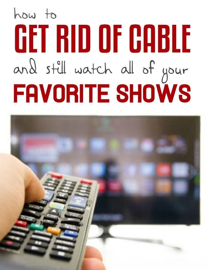 So schauen Sie sich Ihre Lieblingssendungen ohne Kabel an