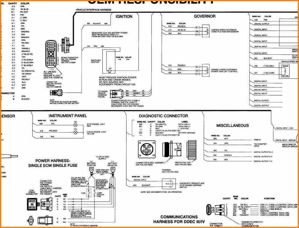 Awesome Ddec V Wiring Diagram Detroit Diesel Dodge Ram Diesel Detroit