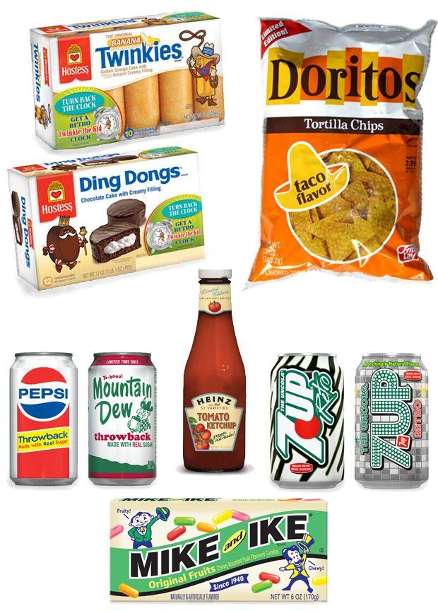 retro packaging examples Retro recipes, Retro packaging