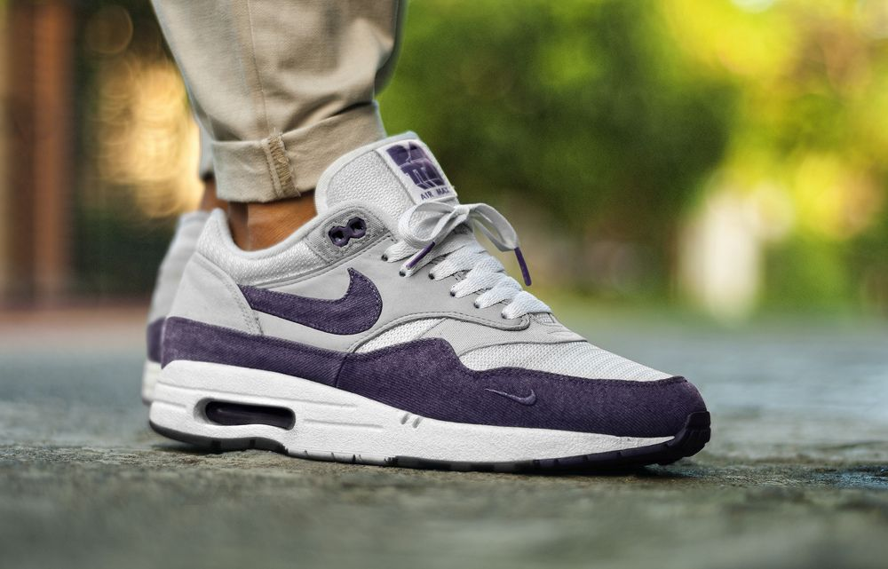 nike air max 1 purple patta sweater