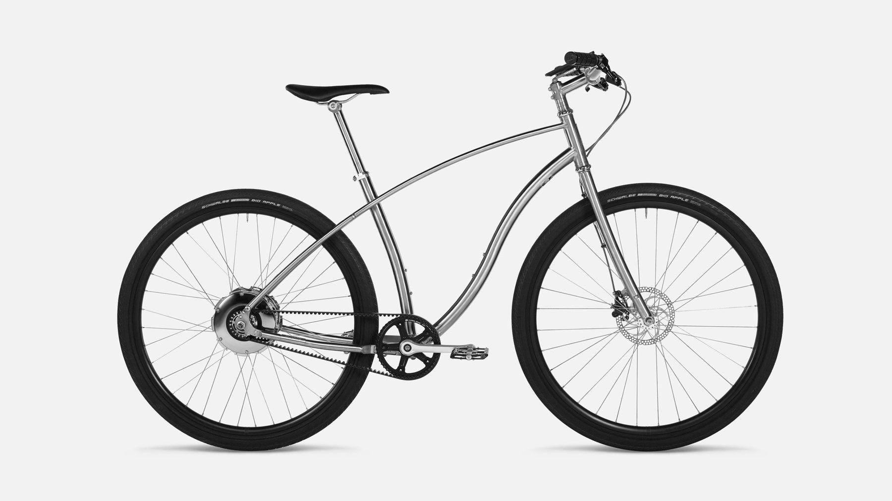 Belt Drive Titanium E Bike Budnitz Model E This Is What I Want