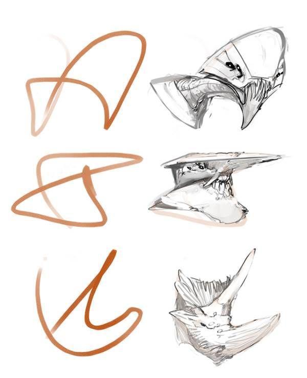 Image Result For Zaha Hadid Sketches Zaha Hadid Automatic Drawing Visual Communication Design