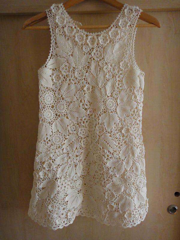 Ravelry: alyoshka\'s Irish crochet lace dress   Crochet Freeform ...
