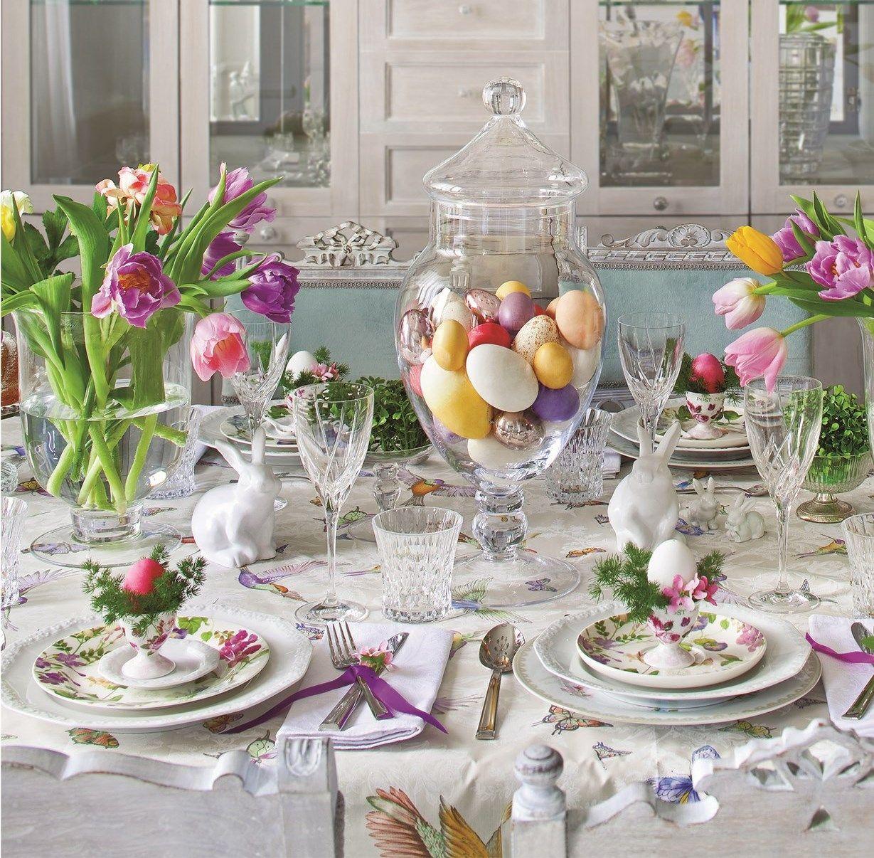 Https Www Weranda Pl Data Articles Stol Wielkanocny 2018 Dekoracje 6 Jpg Easter Dining Table Decor Easter Dinner Table Setting Easter Tablescapes