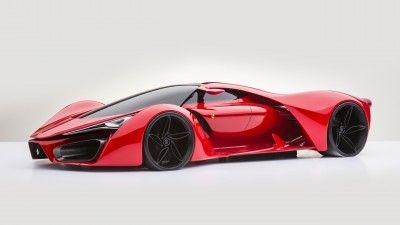 Ferrari LaFerrari K K Wallpaper Hybrid Sports Car Concept - Sports cars 5k