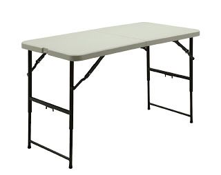Homebrew Finds 4 Folding Work Table 19 99 Free Pickup Folding Table Adjustable Height Table Camping Table