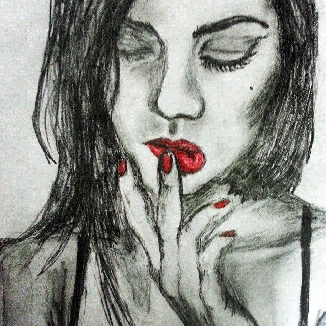 Grafito + Prismacolor ''Acento''