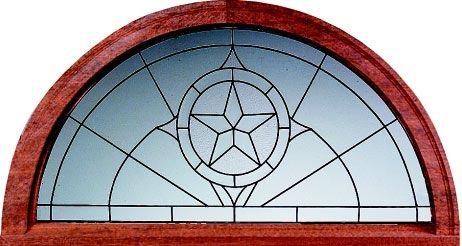 Transoms Star Large Half Circle Transoms Art Of Glass Half