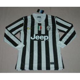 772fbc75b 13-14 Juventus Home Long Sleeve Jersey Shirt