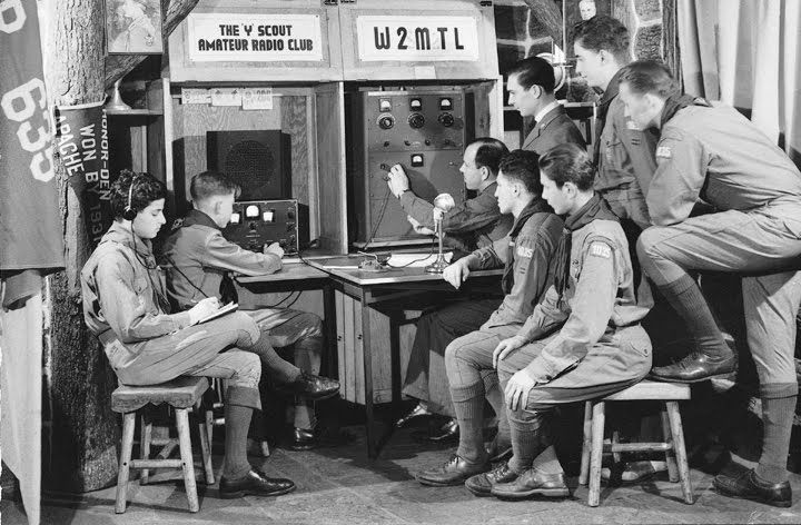 W2MTL, amateur radio station of Explorer Troop 1035/Boy Scout Troop