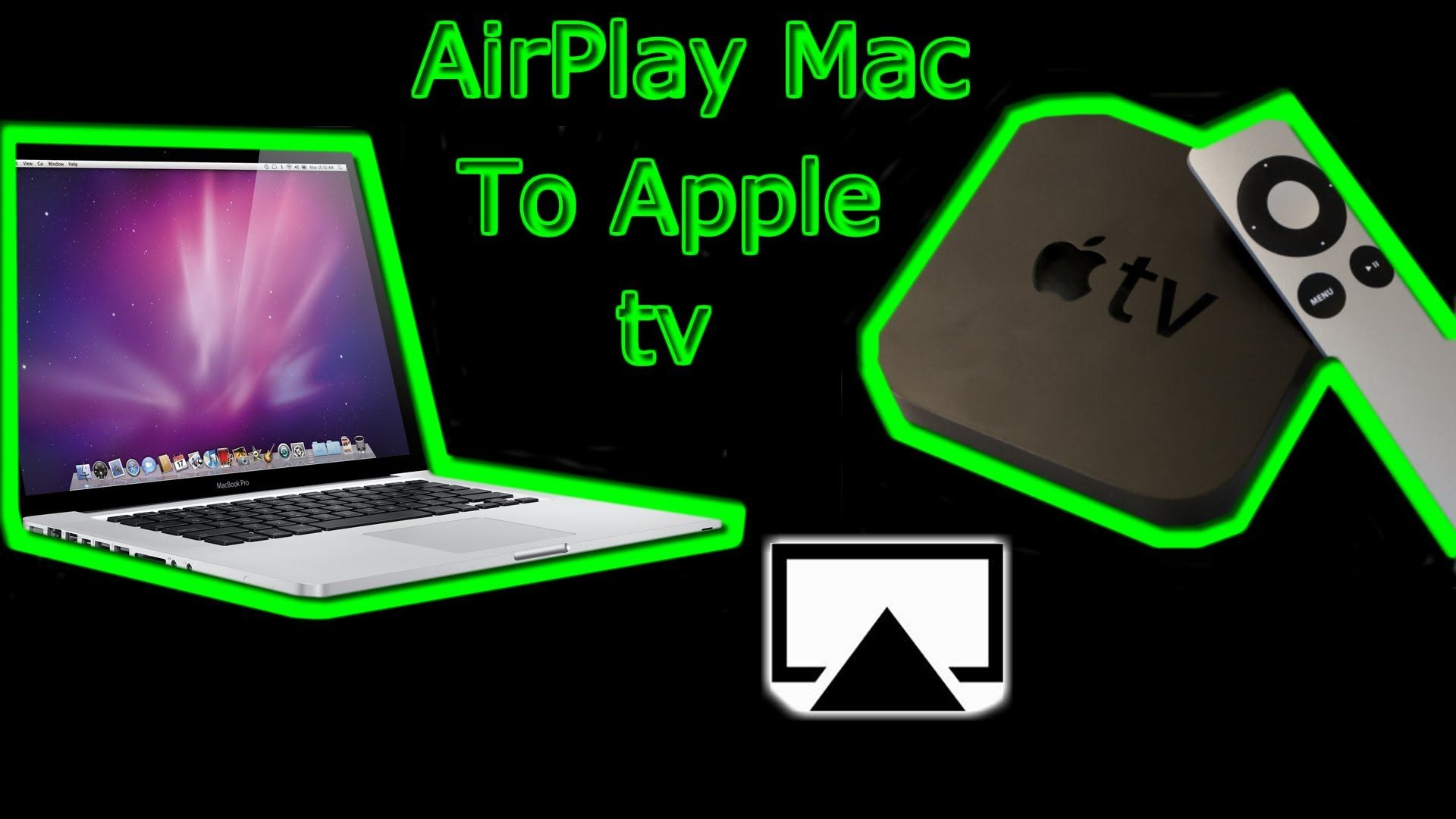 Here is how to Airplay Mac to Apple tv. Works with the