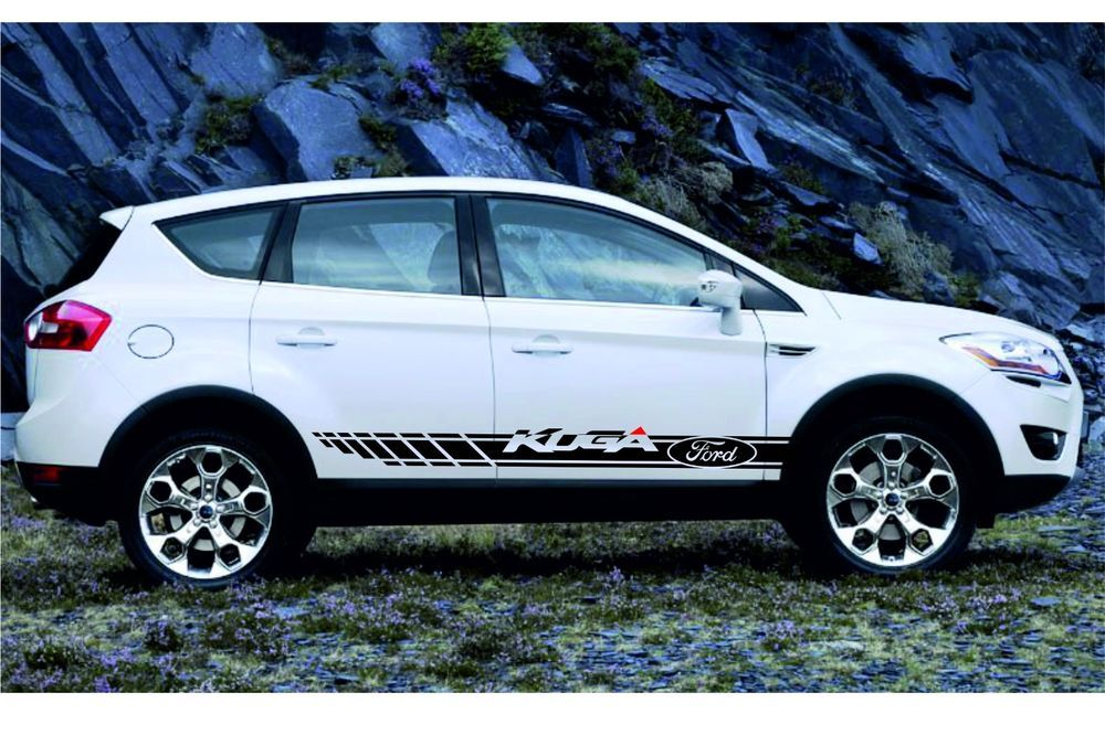 And Oracal 751 Series For Matt Colors 7 8 Yesrs Valavility Size Only For This Car Ford Kuga It Made From High Quality Mater Ford Kuga Racing Stripes Ford