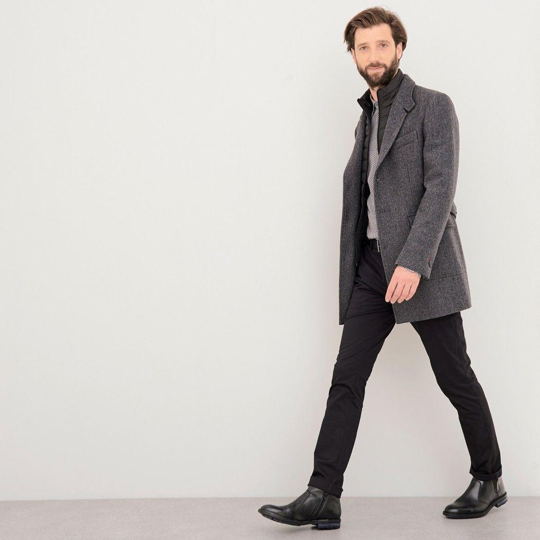 Manteau Homme avec parmenture amovible image 6 | Manteau