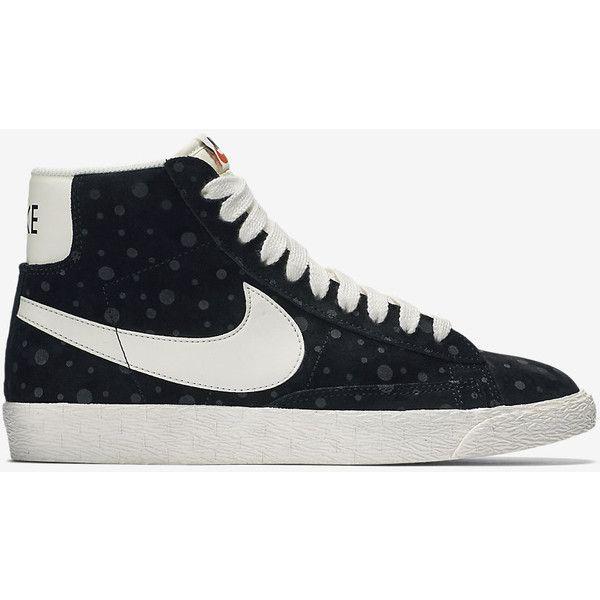 Nike Blazer Mid Suede Vintage Women's Shoe. Nike.com ($100) ❤ liked