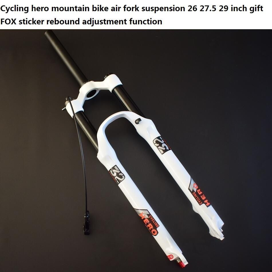 Travel 100-120MM 32mm Mountain Bike Air Front fork MTB