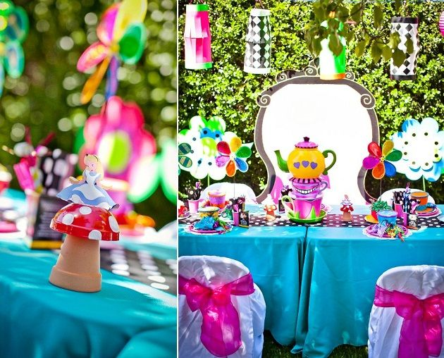 Alice In Wonderland Party Guest Feature Celebrations At Home