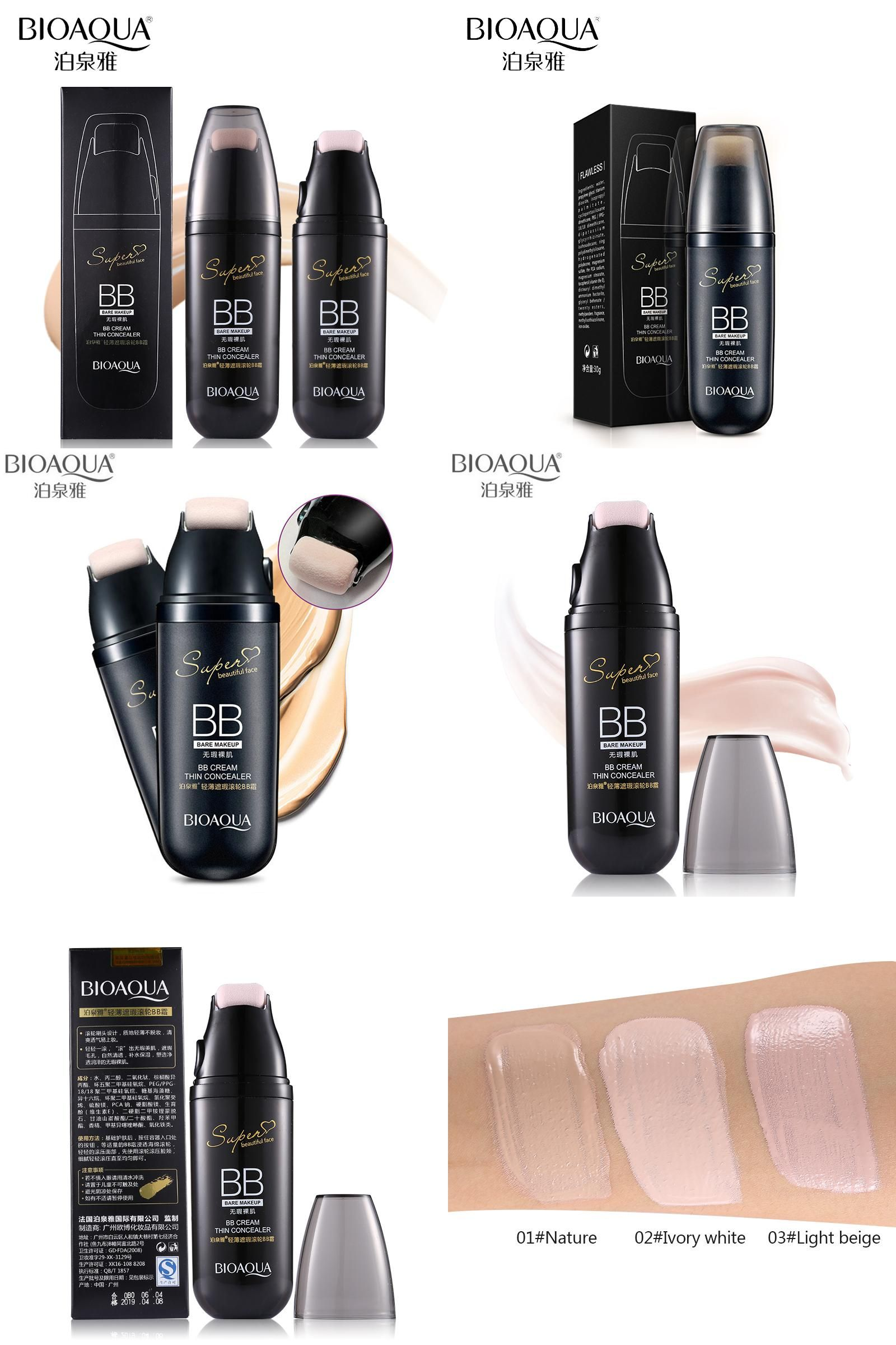 Visit To Buy Bioaqua Brand Scroll Cushion Bb Cream Face Primer Foundation Light Skin Base Makeup