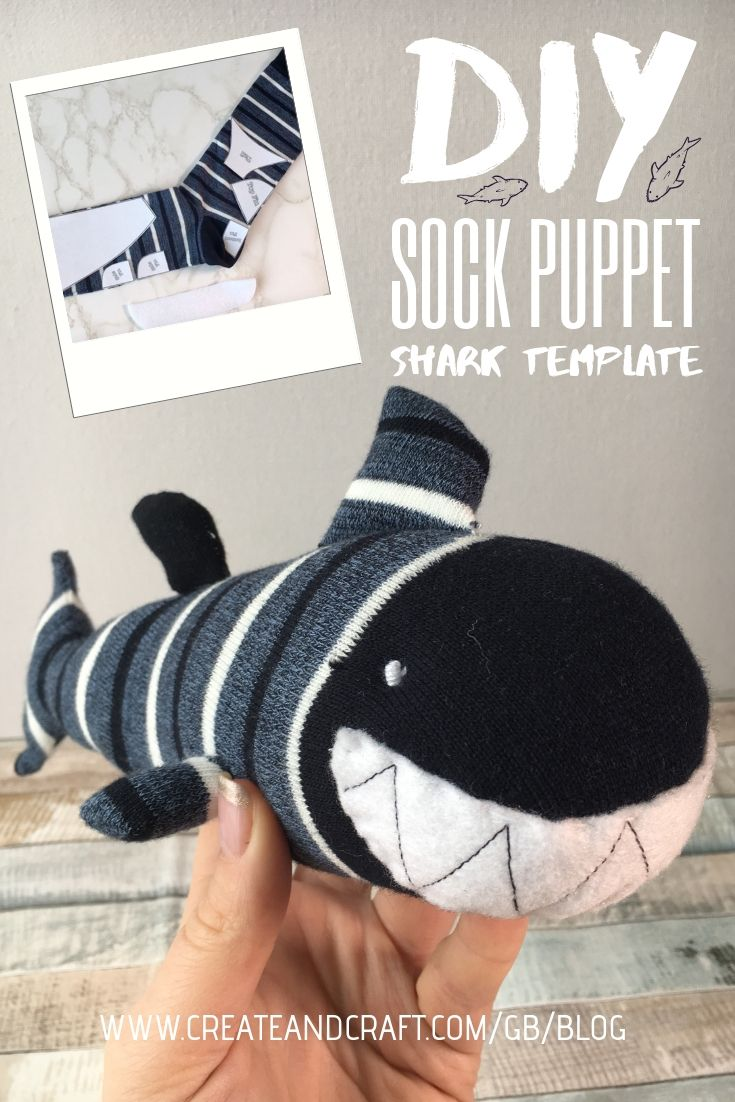 How to Make a Sock Puppet Shark: Snappy Crafting for Lost