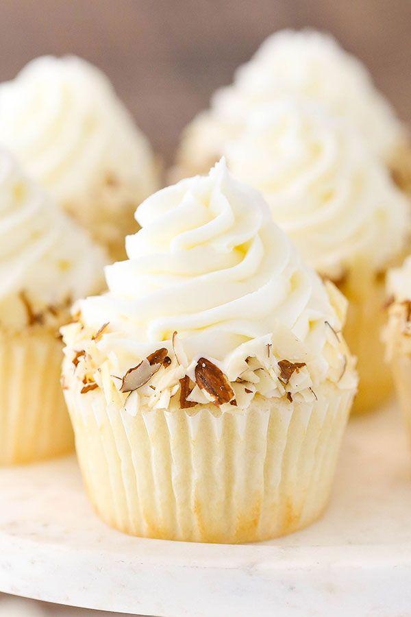 Almond Amaretto Cupcakes Recipe Cake Recipes Food Recipes