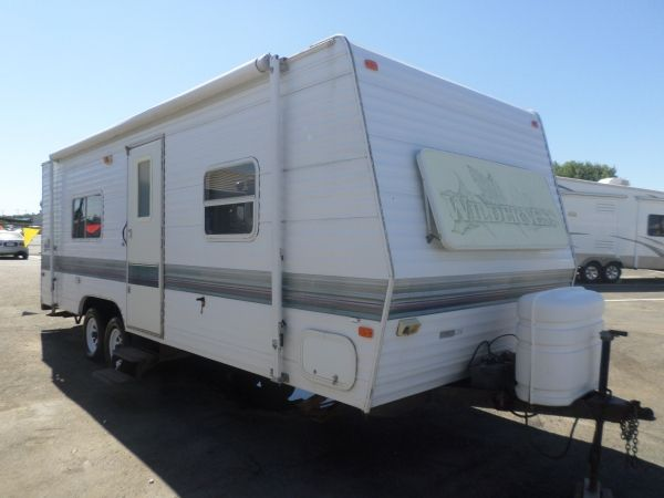 1999 Fleetwood Wilderness 24ft Rv For Sale Used Rv For Sale