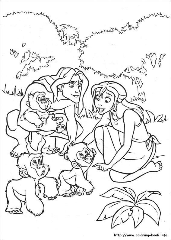 Free Disney Tarzan Printables Coloring Pages And Activities