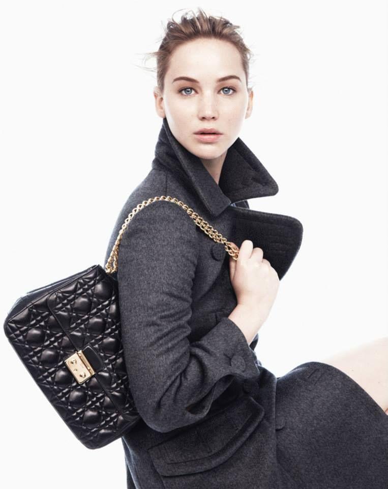 Miss Dior Handbag Campaign Starring Jennifer Lawrence And Shot By Dan Jackson