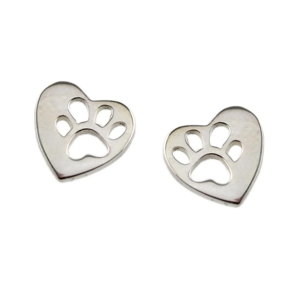 Something Silver | Mimi & Marge Sterling Silver BAWA Studs