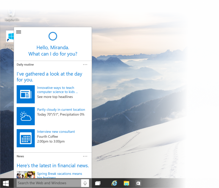 Microsoft releases new Windows 10 update for insiders with