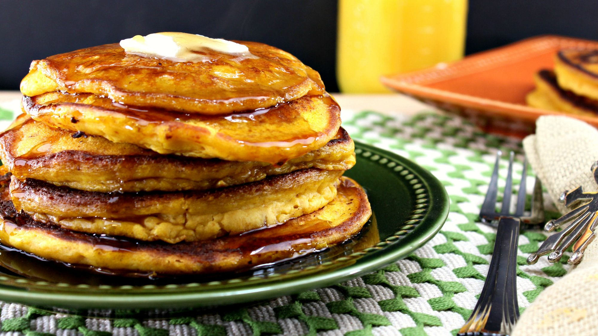 Have a look at pumpkin cream cheese pancakes its so easy to make pumpkin cream cheese pancakes ccuart Choice Image