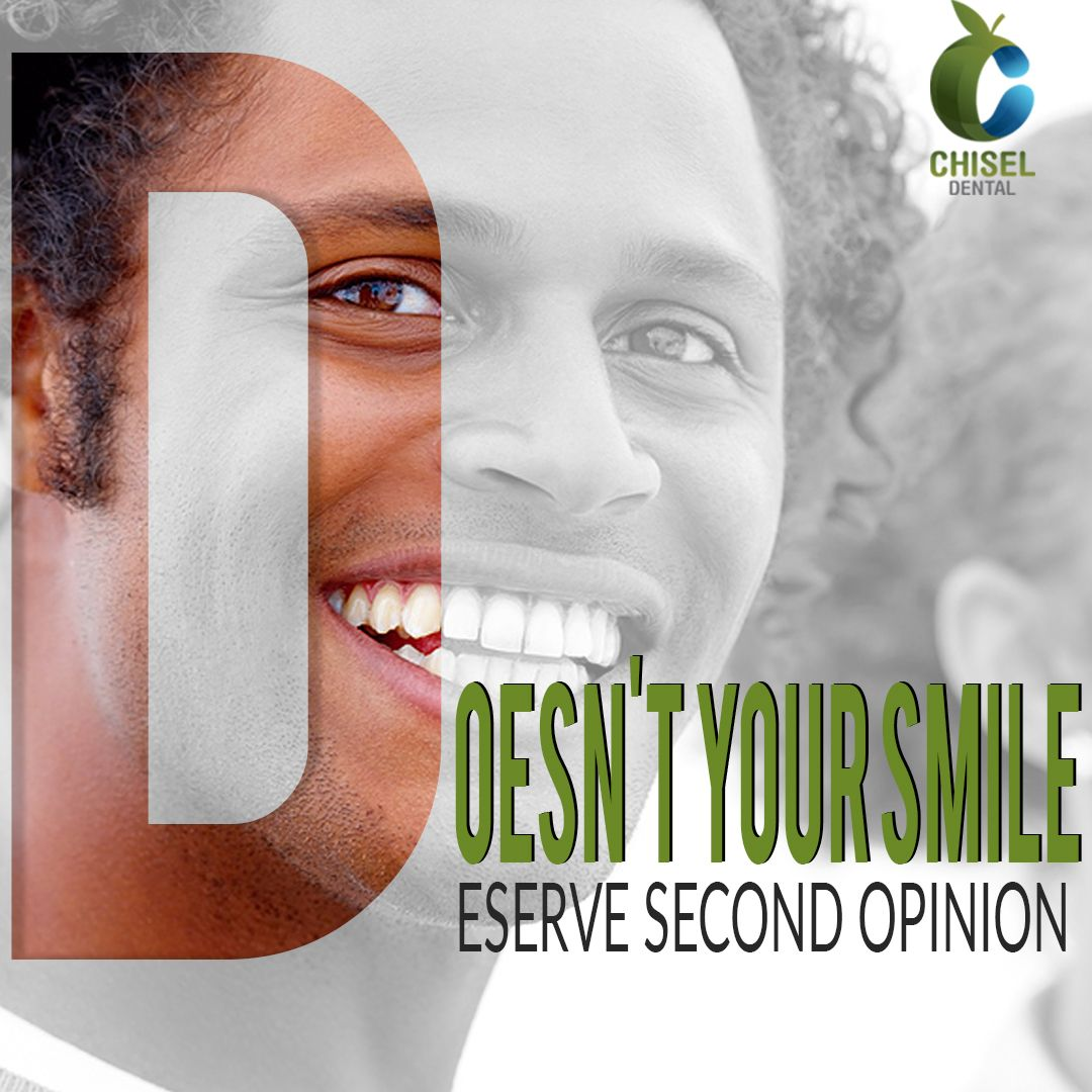 Want a second opinion for your dental diagnosis? Almost