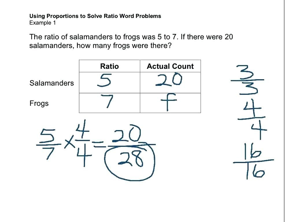 - 41 Simple Ratio Worksheets Design (With Images) Word Problem