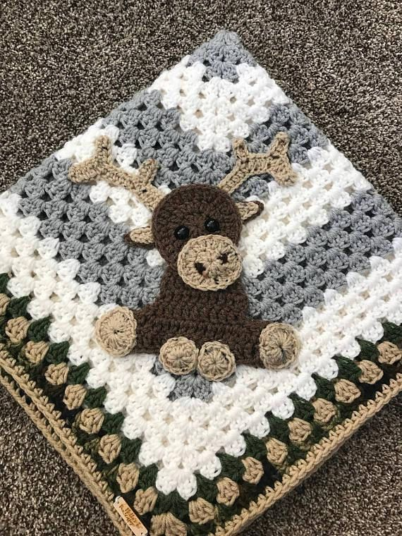 Crochet Pattern - INSTANT PDF DOWNLOAD - crochet pattern - moose ...