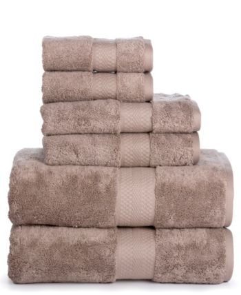 Aerosoft Premium Combed Cotton 700 Gsm 6 Piece Towel Set Reviews