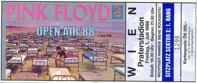 Pink Floyd - Praterstadion Wien -  01.07.1988