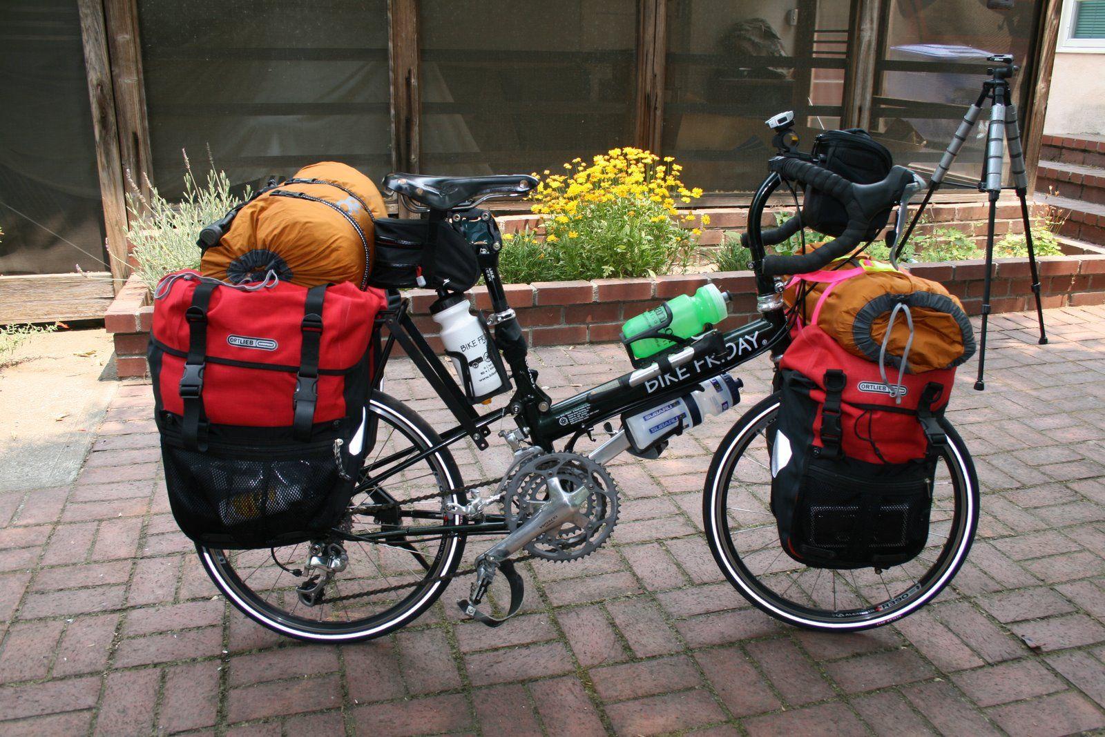 Pin By B M On Bicycling Bike Friday Bike Camping Touring Bike