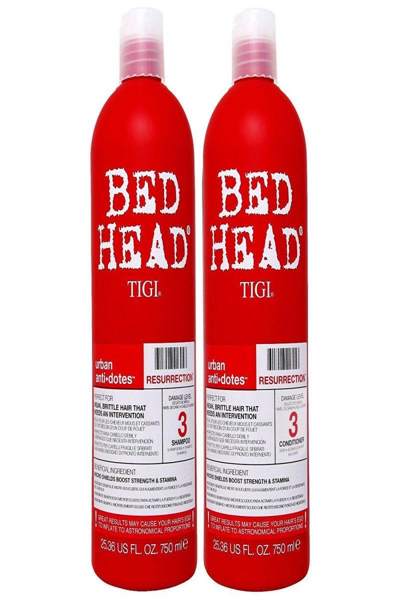 24 00 Tigi Bed Head Resurrection Shampoo Conditioner 25 36 Oz Combo Pack Tigi He Bed Head Resurrection Good Shampoo And Conditioner Bed Head Shampoo